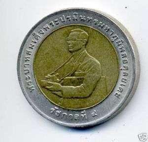 Thailand 1996, commemorative coin King Adulyadej