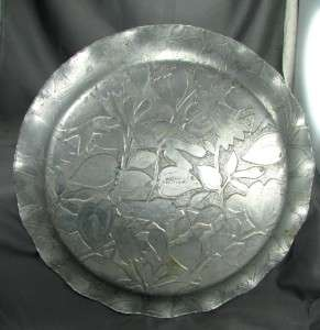 Federal Silver Company Hand Forged Aluminum Large Round Flette