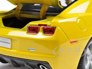 2010 CHEVROLET CAMARO SS RS YELLOW 1/18 DIECAST