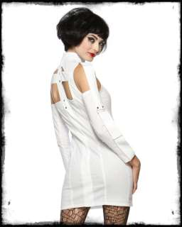 mental patient fancy dress costume a white asylum issue straight