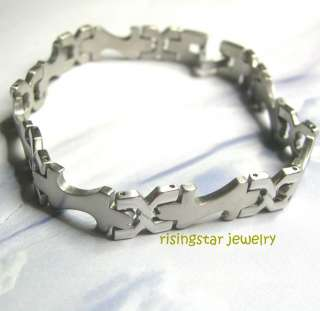 Men Artistic & Elegant Design Quality Stainless Steel Bracelet
