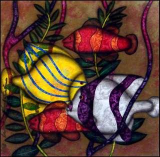 Luis Sottil Little Colors of the SeaCFISH paper Signed Original