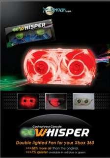 Ventilateur Xbox 360 Led Rouge Mod Refroidissement