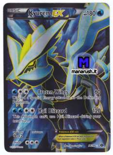 POKEMON • Kyurem EX 96/99 Full Art • Next Destinies