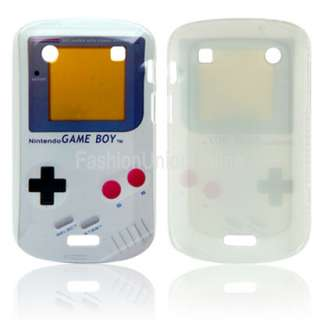 game boy hard case cover pouch for blackberry bold 9900