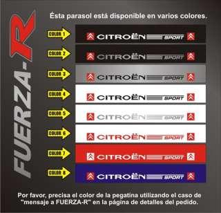 Pegatina Citroen Sport – C1 C2 C3 DS3 C4 SAXO LOEB –B18