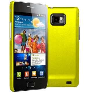 Magic Store   Yellow Hybrid Hard Case For Samsung Galaxy S2 S 2 i9100