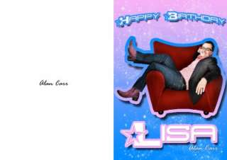 PERSONALISED ALAN CARR BIRTHDAY CARD