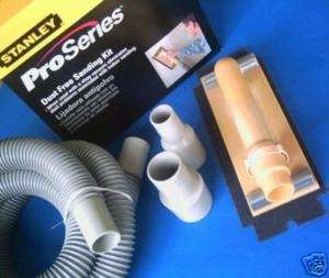 Stanley Dust Free Drywall Sanding Kit w/Hose & Adapters