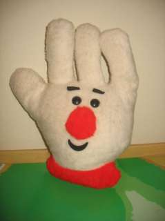 Vtg 1978 General Mills Hamburger Helper Plush Hand Mascot 14