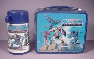 MOTU MASTERS UNIVERSE He Man Metal Lunchbox 1983