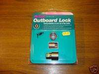 Outboard Engine Motor Bolt Lock Security Yamaha Mercury