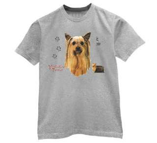 Yorkshire Terrier T Shirt Dog cute animals race love
