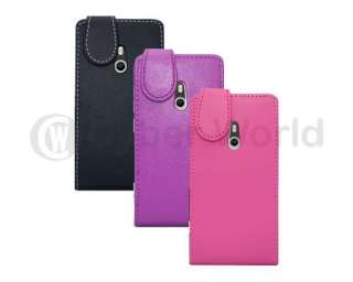 New Leather Flip Case Skin Cover Pouch For Nokia LUMIA 800 UK