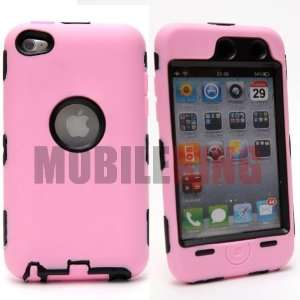 (MOBILE KING) Dual Ultra Rugged Protector Case Pink