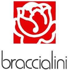 BORSA BRACCIALINI LINEA CROISSANT ART B5350 BIANCO