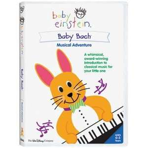Baby Einstein Baby Bach? Musical Adventure DVD Movies