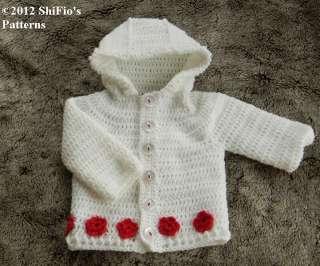 Free Crochet Pattern 668 Flattering Jacket : Lion Brand