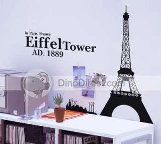 Wholesale Walls Matter Home Decal Eiffel Tower Wall Sticker Wall