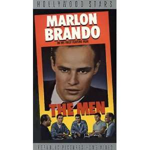 The Men [VHS]: Marlon Brando, Teresa Wright, Everett Sloane, Jack