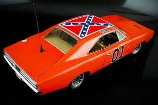 18 AutoWorld Improved 1969 Dukes of Hazzard General Lee Dodge