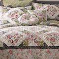 JCPenney home ROSE ARBOR King Quilt 3 Piece Set Retail $140.00