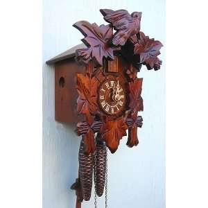 Cuckoo Clock, Black Forest, Leaf & Bird, Model #71/9HZ Home & Kitchen