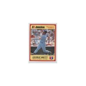 1991 Jimmy Dean #12   George Brett Sports Collectibles