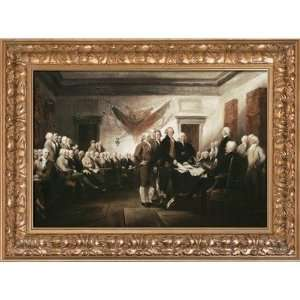 of Independence by Trumbull, John   30.45 x 22.45 Home & Kitchen