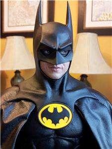 Hot Toys 1/6th Scale BATMAN Michael Keaton Figure No Box No Weapons