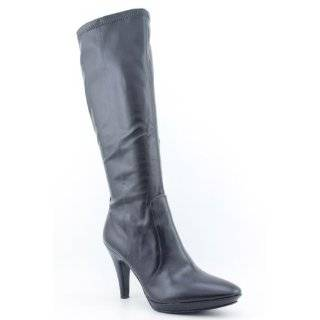 Karen Scott Cassidy Boots Knee Shoes Black Womens Shoes