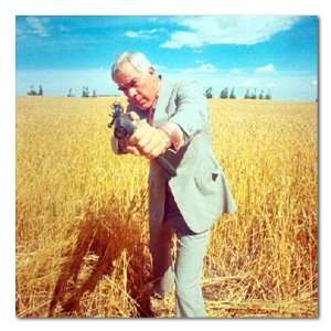 Lee Marvin Color Box Canvas Print Gallery Wrapped:  Home