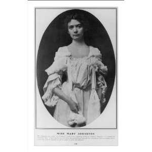 Historic Print (M): Miss Mary Johnston: Home & Kitchen