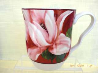 NEW 222 Fifth Savannah Breeze Porcelain Coffee Mug WOW!