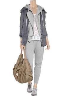 Adidas by Stella McCartney Gym paneled cotton blend track pants   50%
