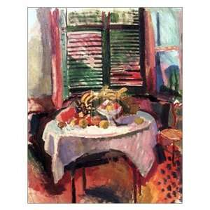 Afternoon Still Life   Poster by Raoul Dufy (24 x 30) Home & Kitchen