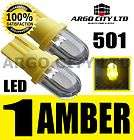 LED XENON AMBER 501 T10 W5W SIDELIGHT BULBS MERCEDES BENZ SPRINTER VAN
