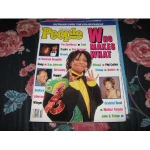People Weekly (WHOOPI GOLDBERG , Barbara , Streep , The