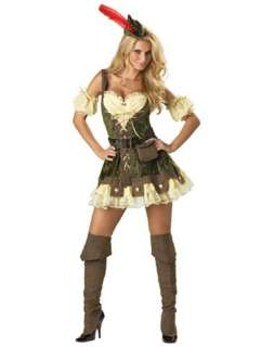Theatrical Quality Racy Robin Hood Womens Costume