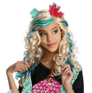 Peruk BARN Monster High   Lagoona Blue Wig INKL Make Up på Tradera.
