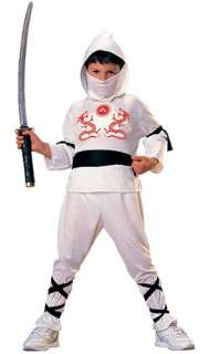Kids White Ninja Costume   Costumes Kid Ninja