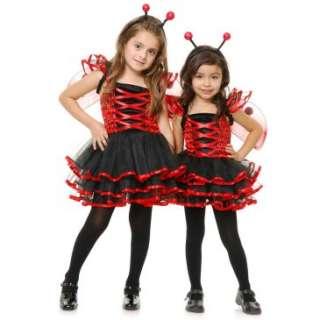 Lady Bug Cutie Kids Costume, 804009