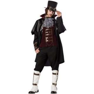 Steampunk Victorian Vampire Adult Costume, 801370