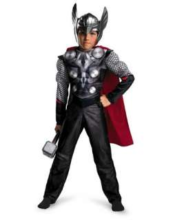 Boys Classic Muscle Thor Movie Costume  Wholesale TV and Movie