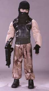 This special forces soldier costume includes Muscle Shirt with Vest