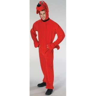 Adult Clifford Costume   Clifford the Big Red Dog Costumes   15AA221