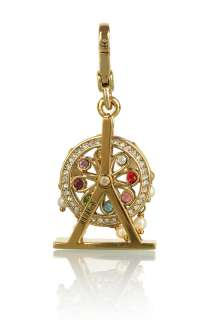 Gold Ferris Wheel Charm by Juicy Couture Accessories   Metallic   Buy
