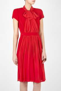 Moschino Cheap & Chic  Bow Neck Show Dress by Moschino Cheap & Chic