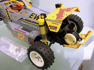 Vintage 58071 Tamiya 1/10 SONIC FIGHTER 2WD Off Road Buggy Rare Box