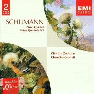 Schumann Piano Quintet Op.44, String Quartets Nos. 1   3